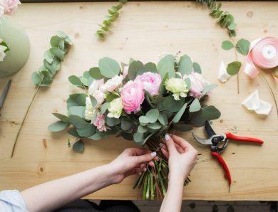 การจัดดอกไม้แบบสากล