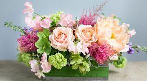 วิธีการจัดดอกไม้สดแบบพุ่ม